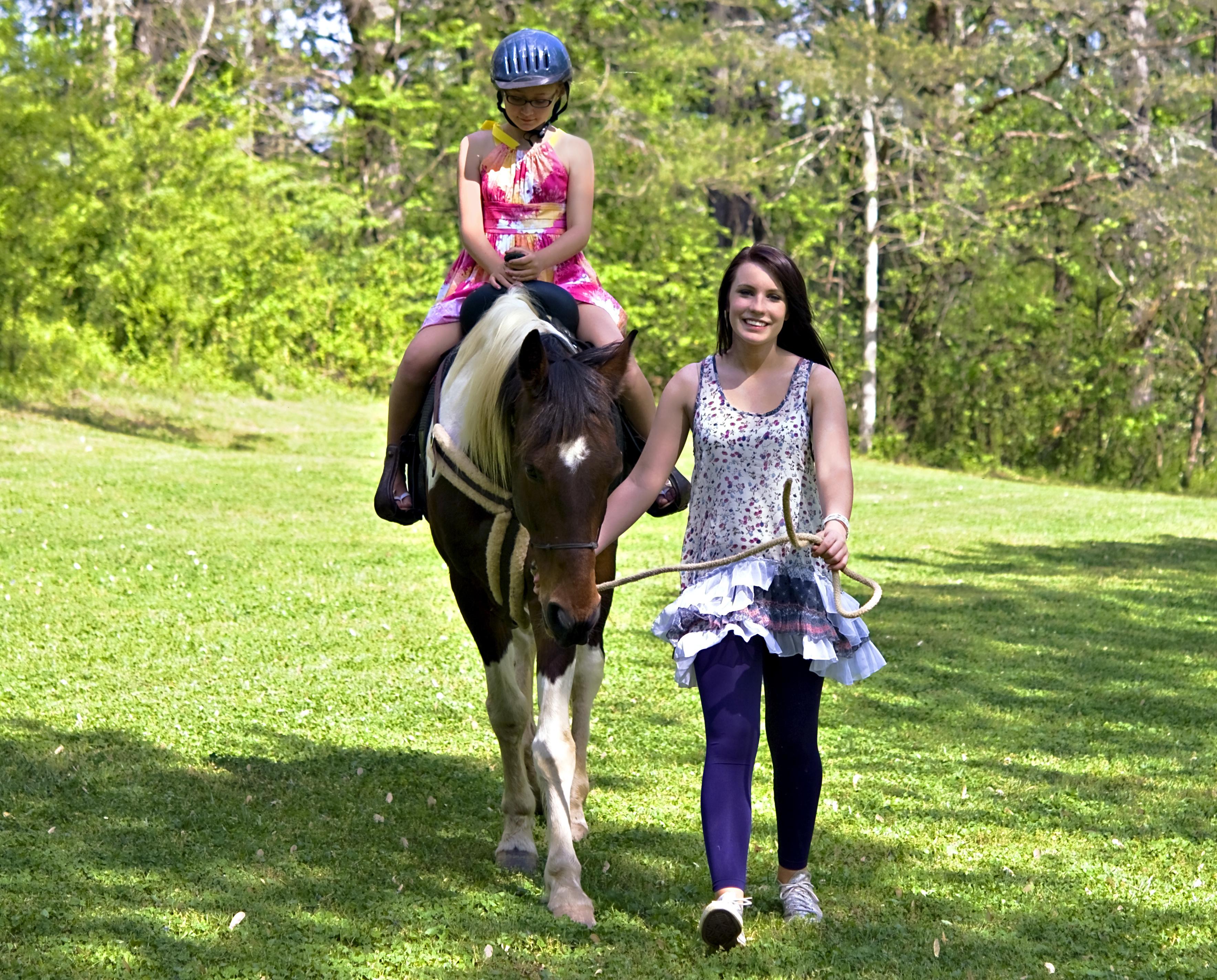 Pferde- bzw. Ponyführen